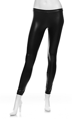 Kova & T Vinyl Zipper Leggings