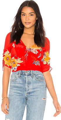 Free People Love To Love Blouse
