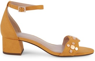 BCBGeneration Fifi Studded Block Heel Sandals