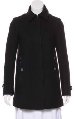 Burberry Short Wool Coat