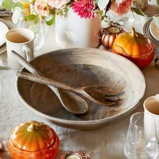 Sur La Table Mango Wood Serve Bowl