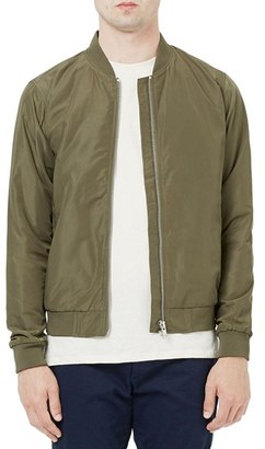 Men's Topman Lightweight Bomber Jacket $80 thestylecure.com
