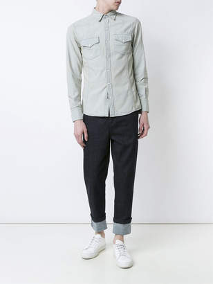 denim pocket T-shirt - White United Rivers Classic Cheap Price 9zZ4BF8