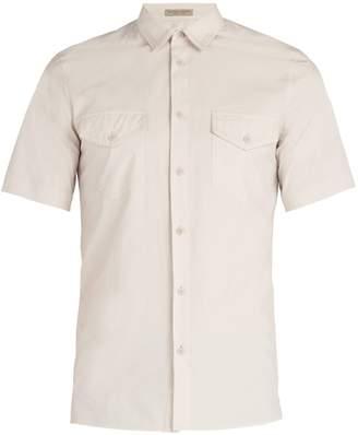 Bottega Veneta Patch-pocket cotton shirt