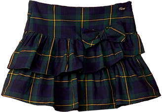 E-Land Kids Plaid Skirt