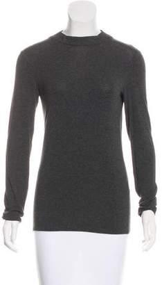 Armani Collezioni Long Sleeve Knit Top