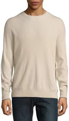 Brunello Cucinelli Men's Rib-Trimmed Cashmere Sweater