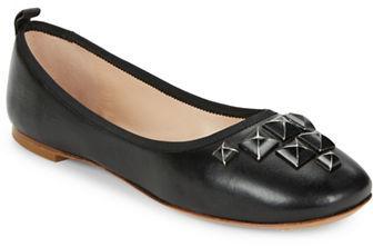 Marc JacobsMarc Jacobs Cleo Studded Leather Flats