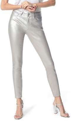 Joe's Jeans Charlie Coated High Waist Ankle Skinny Jeans