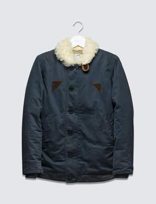 Visvim Deckhand Jacket Sheepskin
