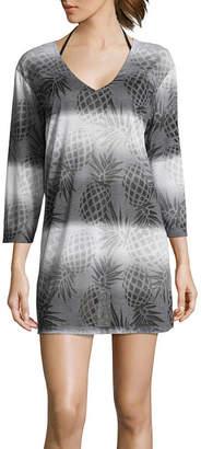 Porto Cruz Jersey Swimsuit Cover-Up Dress