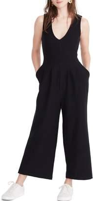 Madewell Texture & Thread Wide Leg Jumpsuit
