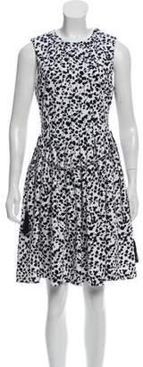 Karl Lagerfeld Sleeveless Printed Dress