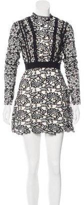 Self-Portrait Antoinette Mini Dress $325 thestylecure.com