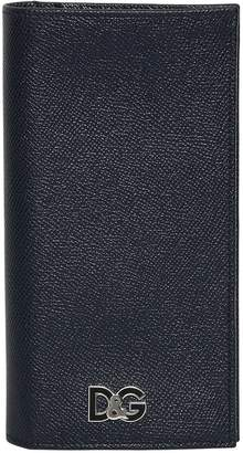 Dolce & Gabbana Embossed Leather Continental Wallet