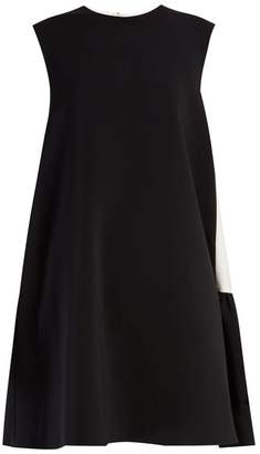 Roksanda Fuji Bi Colour Cady Dress - Womens - Black White