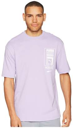 Puma Logo Tower Tee Men's T Shirt