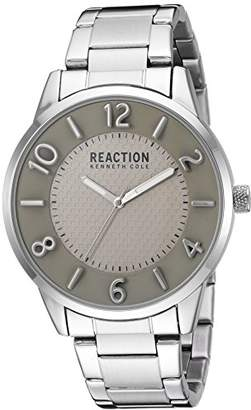 Kenneth Cole Reaction Men's Quartz Metal and Stainless Steel Casual Watch