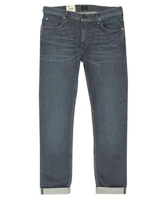 6c72b485 Lee Sustainable Rider Slim Straight Fit Selvedge Jeans Colour: Tesla,