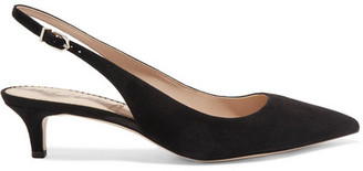Sam Edelman Ludlow Suede Pumps - Black