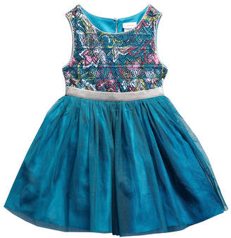 Youngland Young Land Sleeveless Tutu Dress - Toddler Girls