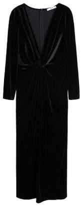 MANGO Velvet knot dress