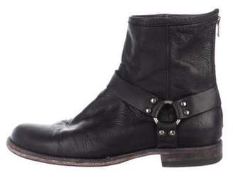 Frye Leather Harness Boots