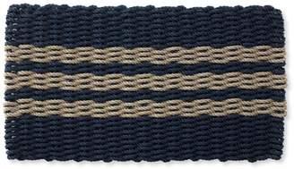 L.L. Bean L.L.Bean Nautical Rope Doormat, Triple Stripe