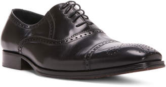 Donald J Pliner Men's Indos Leather Oxford