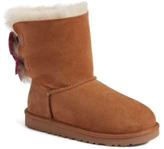 UGG Meilani Dots Genuine Shearling Boot (Toddler)