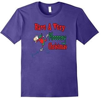 Funny Christmas T-shirts - Christmas Cow T-shirts - Cow Gift