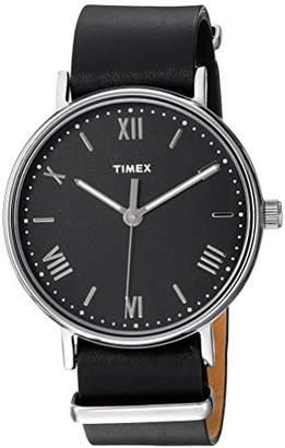 Timex Men's TW2R28600 Southview 41 Leather Strap Watch