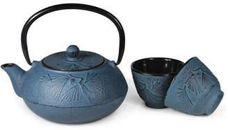 Adagio Teas Japanese Style Cast Iron Teapot With Cups = Meguro