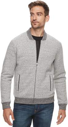 Marc Anthony Men's Slim-Fit Foldover Collar Knit Bomber Jacket