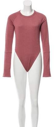 Alix Tailored Metallic Bodysuit