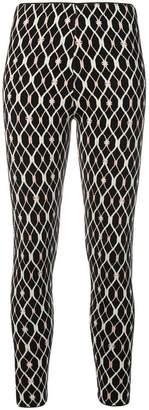Elisabetta Franchi crepe-cady-stretch leggings