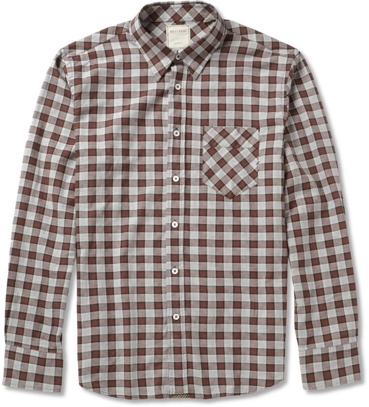 Billy Reid Walland Plaid Cotton-Flannel Shirt