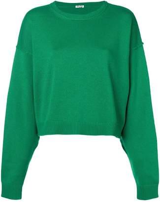 Miu Miu cropped sweater
