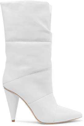Off-white Sara Quilted Leather Boots