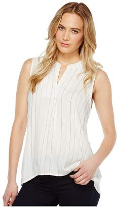 True Grit Dylan by Turkish Stripe High-Low Sleeveless Tunic Women's Sleeveless