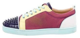 Christian Louboutin Louis Junior Spikes Low-Top Sneakers