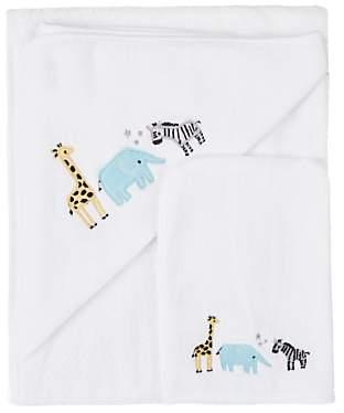 John Lewis   Partners Safari Hooded Towel and Mitt 26ce312e8464c