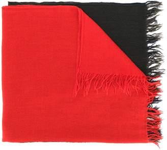 Y's block colour scarf