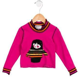 Sonia Rykiel Girls' Logo Doll Top