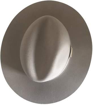 Anine Bing Beige Wool Hats