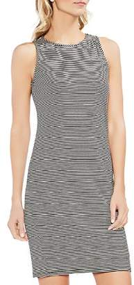 Vince Camuto Sleeveless Striped Dress