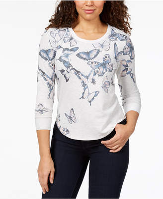 Style&Co. Style & Co Graphic Sweatshirt, Created for Macy's