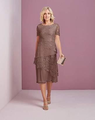 Nightingales Lace Layered Dress