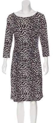 Tory Burch Printed Knee-Length Dress