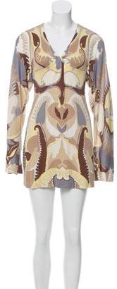 Missoni Abstract Print Mini Dress